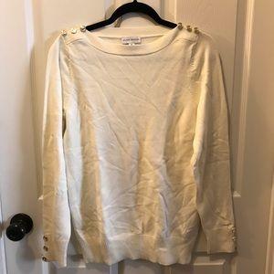 Susan Graver XS Cream Sweater